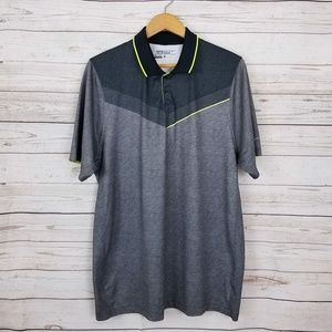 Nike Gold Tour Performance Dri-Fit Polo Shirt L
